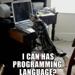 I can has programming language?