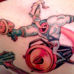 tatouage-earthworm-jim